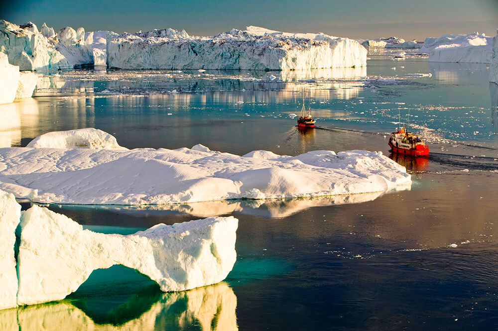 climate change, Greenland, global warming, icebergs, melting, Sermeq Kujalleq, Jacobshavn Glacier