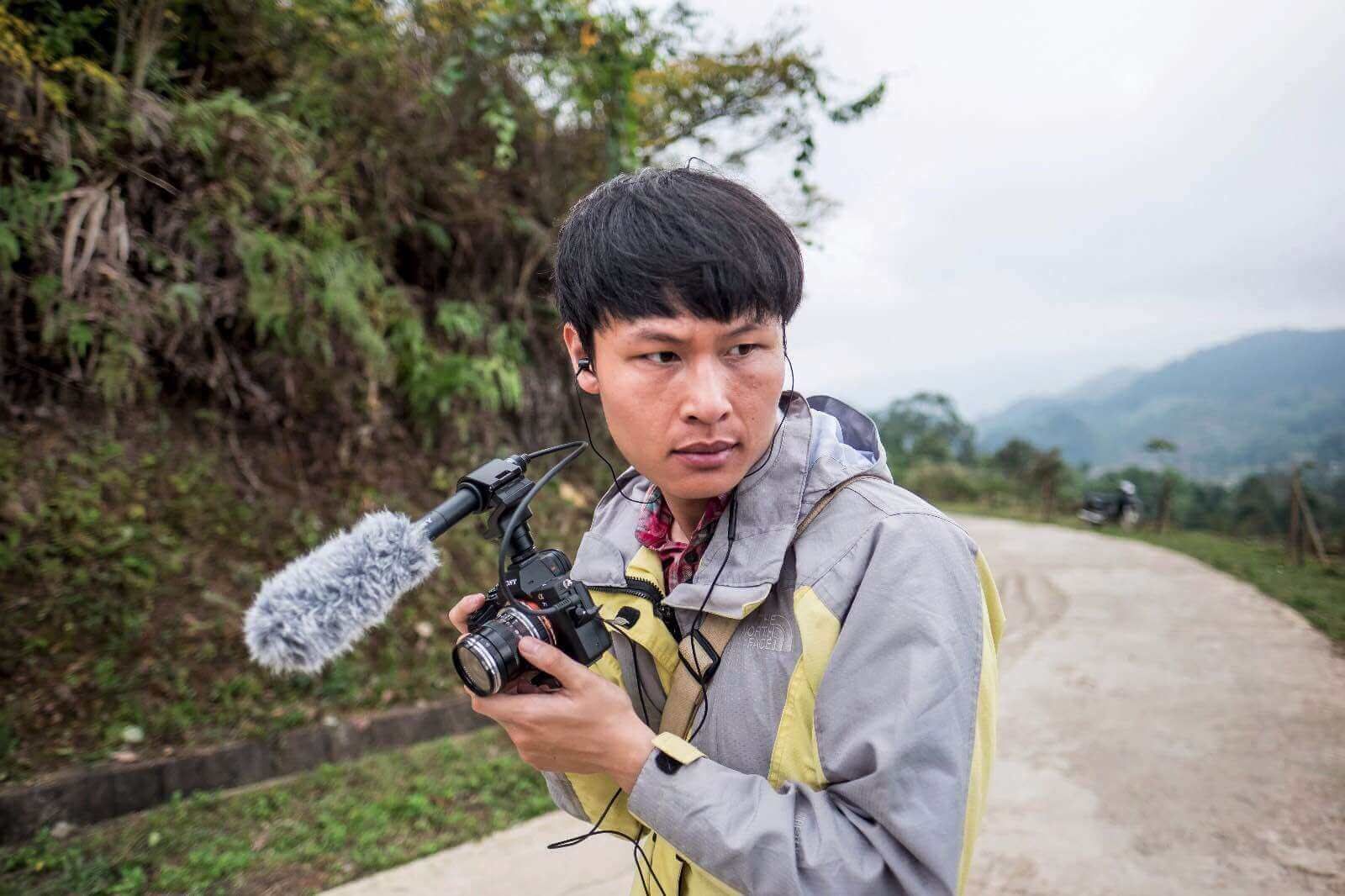 Linh Pham on assignment for The World Bank in Vietnam