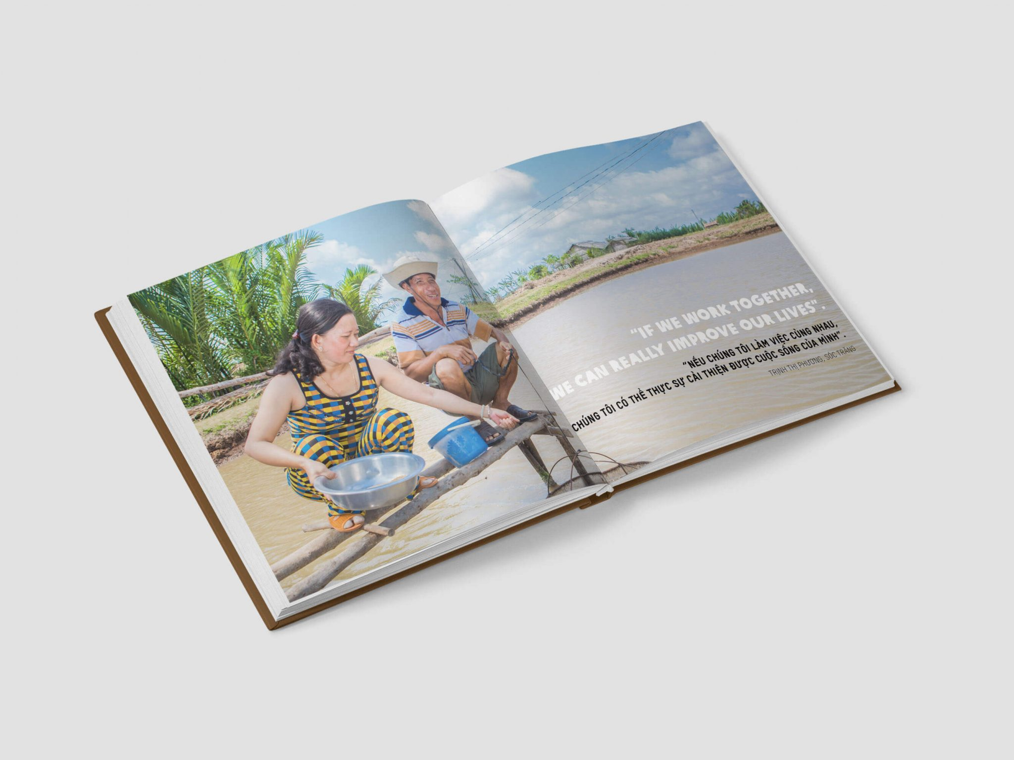 Inside munication for Development Ltd s coffee table book for