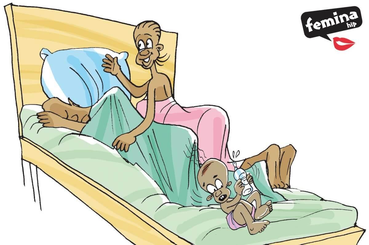 Femina Hip, sexual and reproductive health, messaging, Tanzania, cartoon, communication for development, C4D