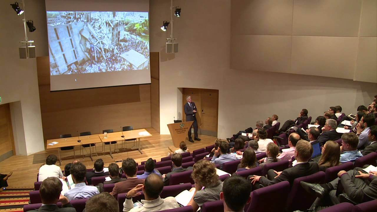 Mike Barry, Plan A, Marks and Spencer, Cambridge, lecture, sustainability, corporate social responsibility, CSR, corporate citizenship, business