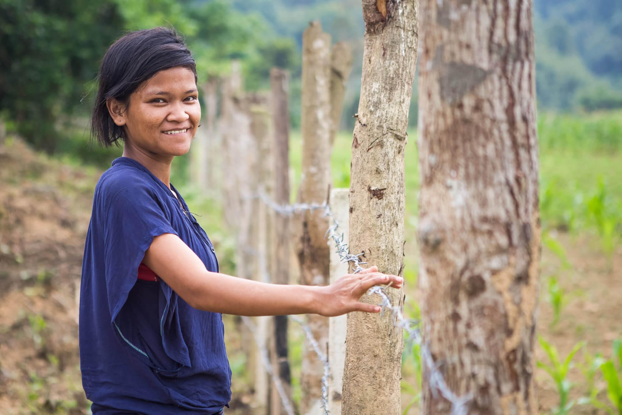 Oxfam, Vietnam, Quang Binh, land rights