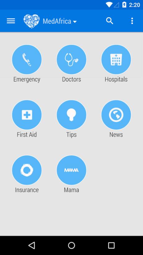 Medafrica Mobile App