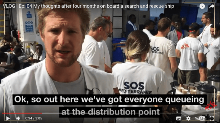vlog, MSF, European refugee crisis, rescue ship
